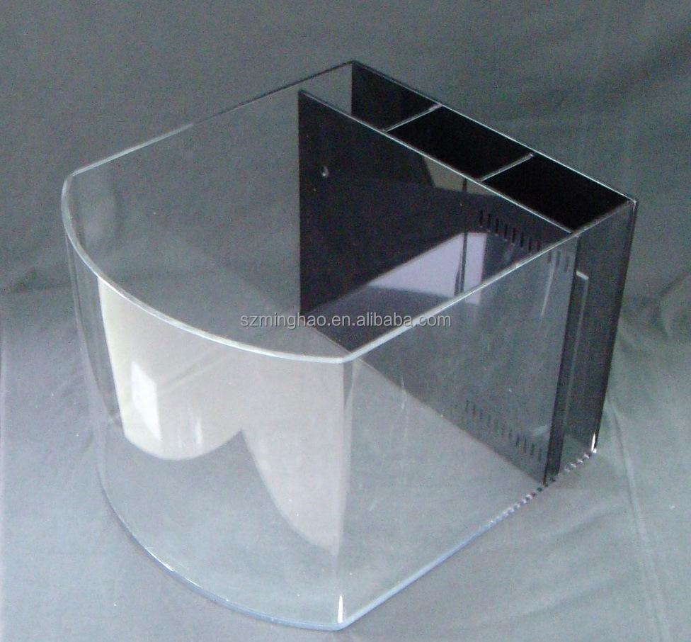 Cubic acrylic glass fish aquarium for sale buy acrylic for Acrylic fish tanks for sale
