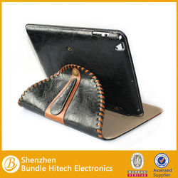 for ipad 5 real genuine leather cover