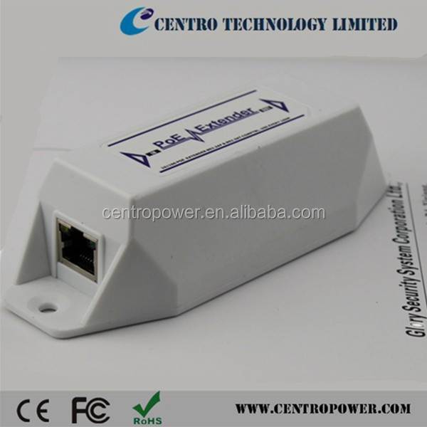 High Quality POE Extender Point-to-Point up to 500m IEEE802.3af/at 10/100Mbps Wireless Ethernet Extender for IP Camera