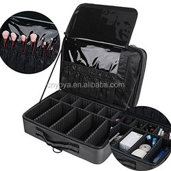 Professional Makeup Train Case with Mirror