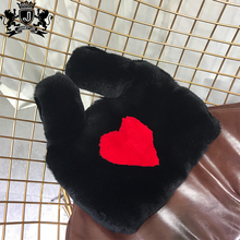 newest design cheap price luxury cute funny rabbit real fur handbags for fashion girls