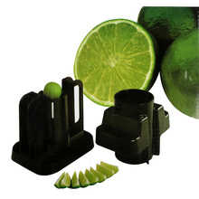 Toprank Best Professional Barware Lemon And Lime Wedger Cutter,Plastic Apple Fruit Cutter Lemon Apple Slicer