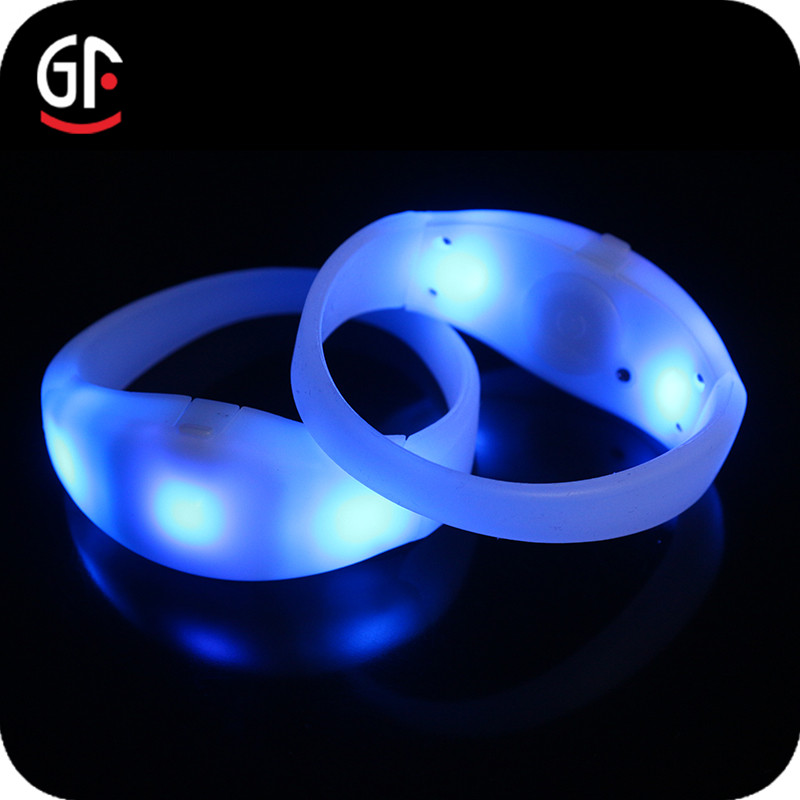 Import Party Supply Color Changing Multicolor GFLAI Brand New Function Blinking Bracelet
