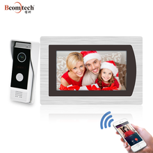 2018 New Arrival Bcomtech Intercom door bell ip video wireless android with night vision
