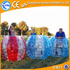 New designed soccer bubble, inflatable team game body bubble ball/denim soccer ball