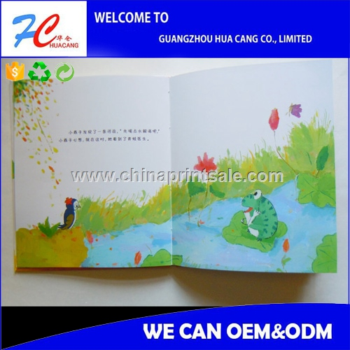 childrens memory book,spiral binding book with pocket,cardboard children book with best price