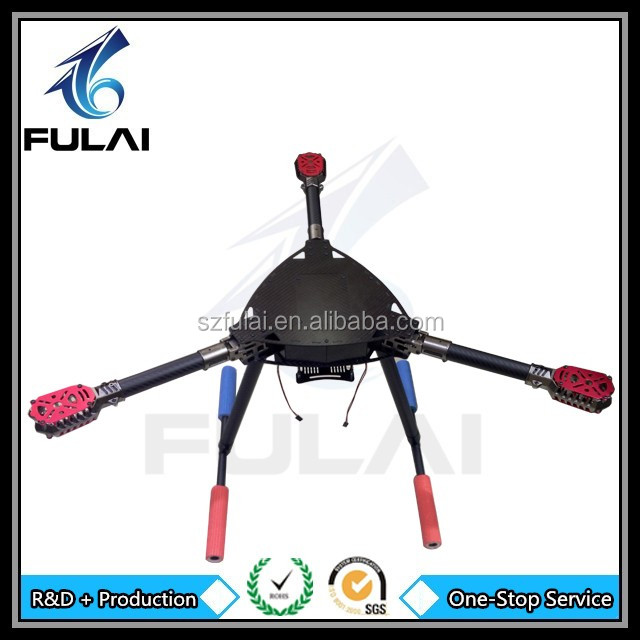 Electrical UAV Accessories RC carbon fiber landing gear accept customized