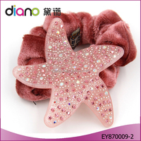 2016 Best Wholesale Cellulose Acetate Starfish Hair Accessories For Girls