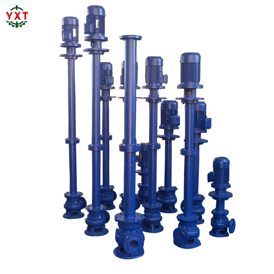 Chemical Industry Cast Iron Steel Double Pipe Non-Clogging Water Centerfugal Sewage Submersible Pump