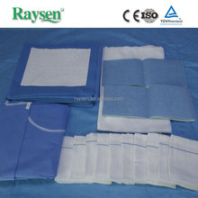 High quality drape baby delivery kit disposable surgical gowns