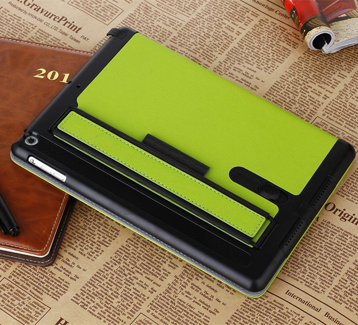 Factory multi-function Tablet cases 9.7Inches for ipad leather mini smart cover tablet case for ipad air2