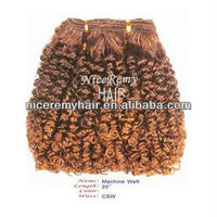 brazilian remy human hair kinky curly weave/100% remy human hair