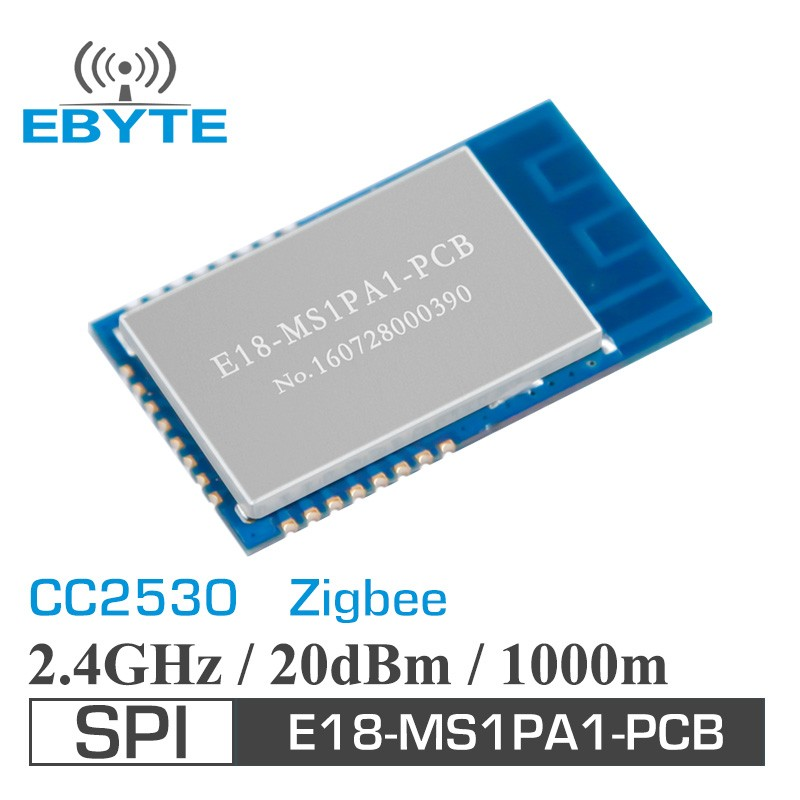 E18-MS1PA1-PCB 100mW 1km 2.4GHz zigbee CC2530 transmitter and receiver module
