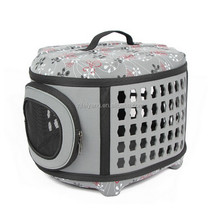 Factory wonderful design lightweight fabric oxford Soft Sided Airline Approved Dog Pet carrier EVA Bag