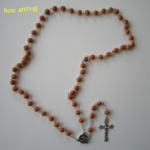 Fashion style religious rosary new pope catholic religious gifts