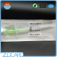 Microchips For Animals With Programmable RFID Micro Chip Em4305 Animal Glass tag With Syringe