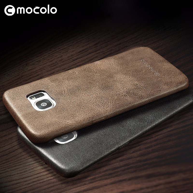 Mocolo Wholesale Price For Samsung Galaxy S7 Edge Leather Case Mobile Phone PU Case