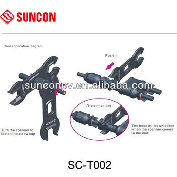 pin spanner wrench for MC4 solar connector
