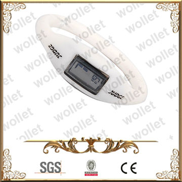 Plain White Automatic Silicone Watch Colours