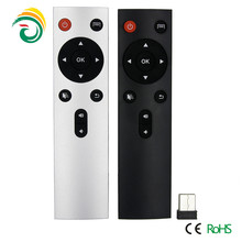 High Quality Portable 2.4G Wireless Remote Control Air Fly Mouse Keyboard Android TV