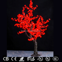 1.8M christmas tree shaped light for outdoor decorations FZ-672-RED