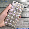 Fashion Accessory 3D Hearts Transparent TPU