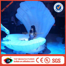 New concept stage decorative giant inflatable seashell
