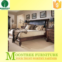 Moontree MBD-1134 china double bed designs in teak wood