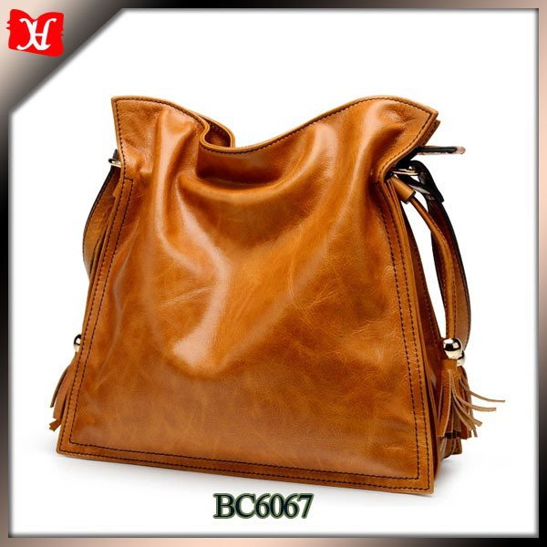 Hot Selling Genuine Leather Ladies Sling Bag Branded Women ...