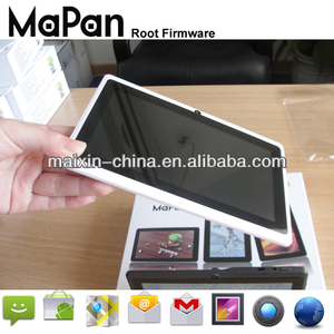 cheapest wifi tablet 7 inch mapan tablet android/a13 q88 micro digit tablet