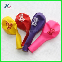printing logo advertisement balloon with EN 71 SGS high quality