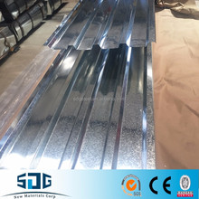 Zinc coated steel Roofing Sheets /Galvanized steel roofing tiles corrugated from coils used for building