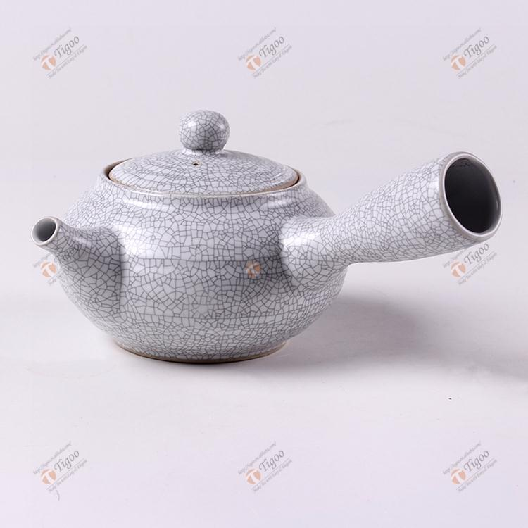 2016 Plastic cheap ceramic teapot made in China TG-621T25-BW-L