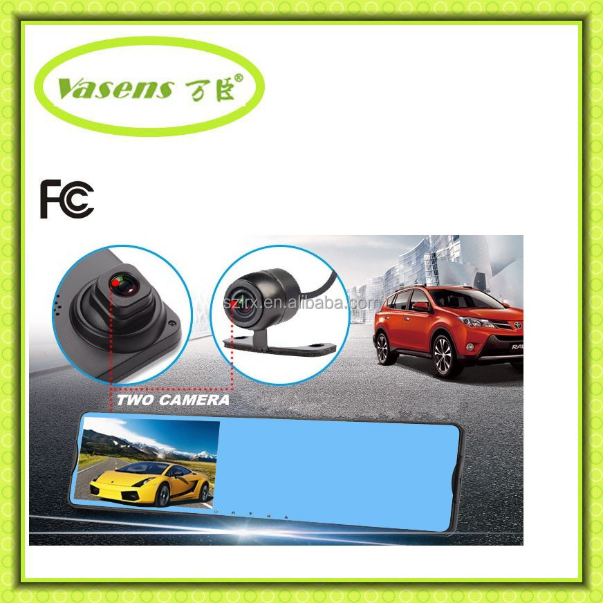 Car DVR Rear View Mirror Reverse car dvr HD Camera Rearview System dash camera