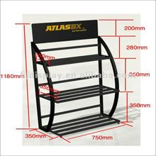 Heavy Load Bearing Store/Warehouse Car Battery Metal Rack