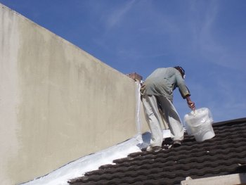 Elasti-Coat for Roof waterproofing