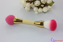 The new portable double blush brush powder large cosmetic powder brush