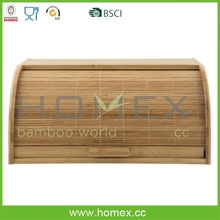 Good wooden bread bin/keeper/storage box/HOMEX-BSCI