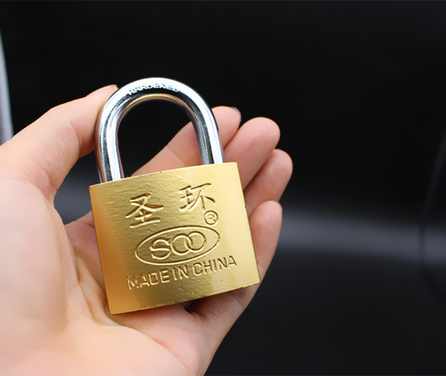factory directly sell best price heavy-duty imitate brass/copper Atomic padlock