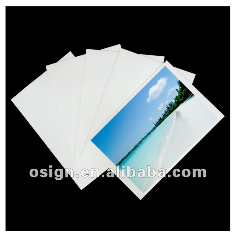 high glossy waterproof RC inkjet photo paper