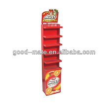6 Tier Corrugated Cardboard Sweet Display Stand