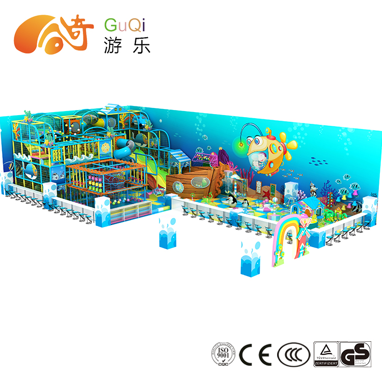guqi customized kids indoor playground for sale