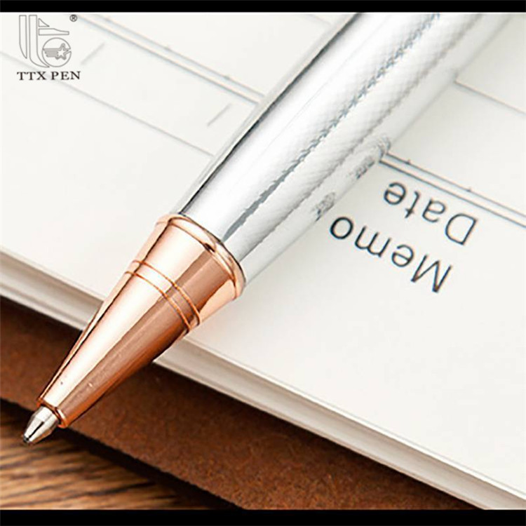 2019 Wonderful novelty laser engrave high quality metal ball pen metal ballpoint pen