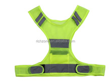 New designed reflective sports running vest, mesh fabric