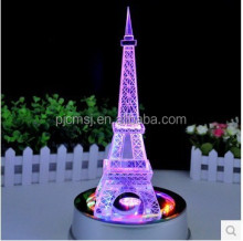 Beautiful Clear Crystal Eiffel Tower Model,Eiffel Towel Figurine for Birthday souvenirs,Travel Gifts