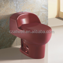 1021 bathroom water closet red color commodes