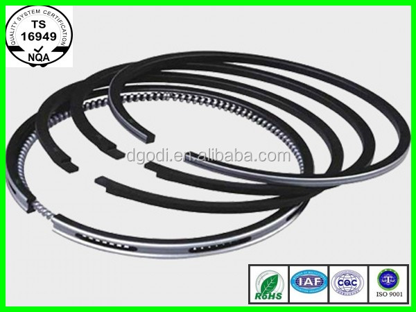 Npr piston ring/rik piston ring A4 1.6L 4cylinder 81mm STD +0.25 +0.5