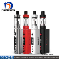 2016 hot selling 75w TC Box Mod topbox mini tank black kanger subox mini pro kit