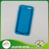 Latest cute logo mobile phone silicon case
