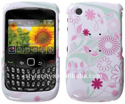 Bright Snap-On Graphic Hard Case for BlackBerry Curve 3G 9300 / 9330 / 8520 / 8530